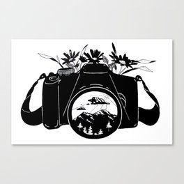 Capture Everything Canvas Print