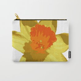 Spring Daffodil Vector Isolated Carry-All Pouch