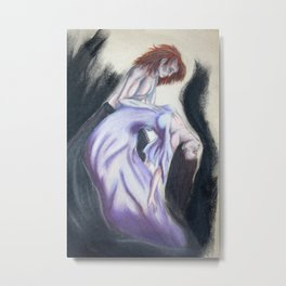 Even in death, my love Metal Print
