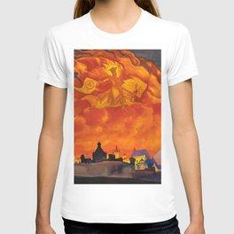 12,000pixel-500dpi - Nicholas Roerich - St Sophia The Almighty Wisdom - Digital Remastered Edition T-shirt