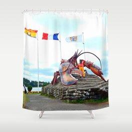 Shediac Lobster Shower Curtain