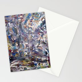 Shattered Curtains Stationery Cards