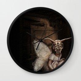 baby mothra Wall Clock
