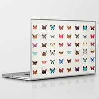 butterflies Laptop & iPad Skins featuring Butterflies by Dorothy Leigh