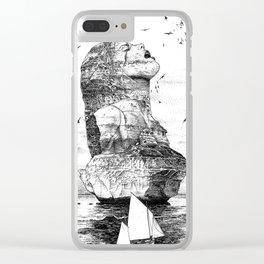 asc 757 - La nostalgie est une île (The remains) Clear iPhone Case