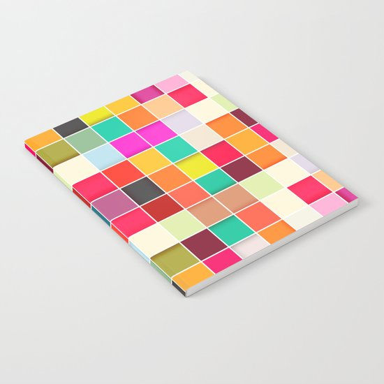 Colorful Rectangles Notebook