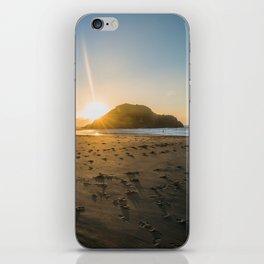 Back Beach iPhone Skin