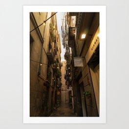 Streets of Spain Art Print