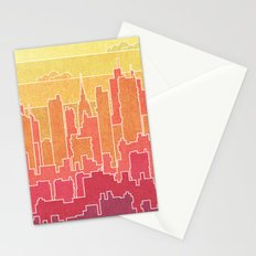 Urban landscape Stationery Cards