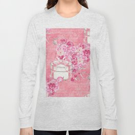 Roses Heart Pattern 03 Long Sleeve T-shirt