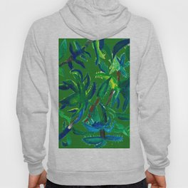 Cactus Abstract With Background Hoody