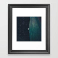 Project Apollo - 8 Framed Art Print