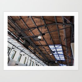 History in the Rafters Art Print