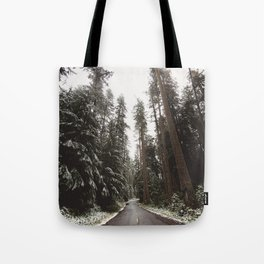Redwood Forest Adventure II - Nature Photography Tote Bag