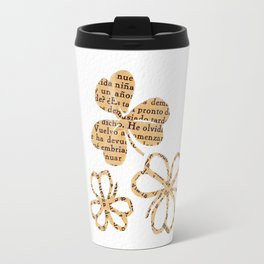 PAPERCUT FLOWER 4 Travel Mug