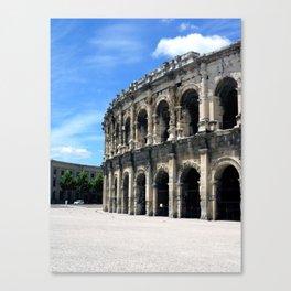 Arena of Nîmes France Canvas Print