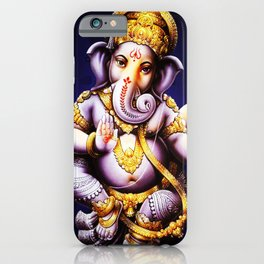 Hindu Ganesha 3 iPhone Case