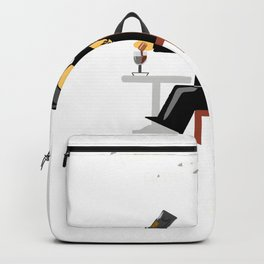 Age and wine Backpack