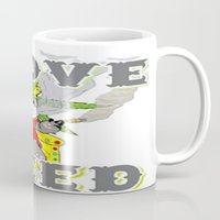 cannabis Mugs featuring Timothy The Cannabis Bear  by Timmy Ghee CBP/BMC Images  copy written