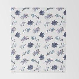 Suculentas Throw Blanket