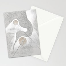 The waterfall of Subconsciousness Stationery Cards