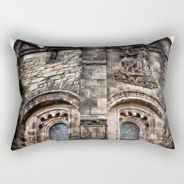 Edinburgh Castle Tower Rectangular Pillow