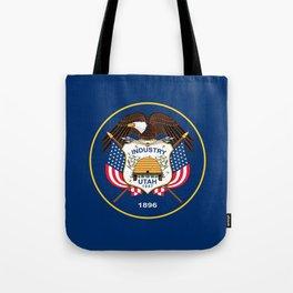 Utah State Flag - Authentic version Tote Bag
