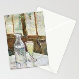 Vincent Van Gogh - Cafe Table with Absinth Stationery Cards