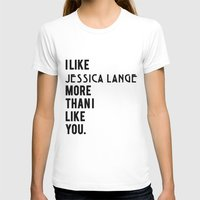jessica lange T-shirts featuring Jessica Lange American Horror Story by NameGame