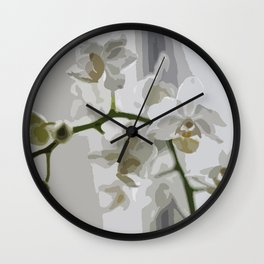 Orchidea Wall Clock