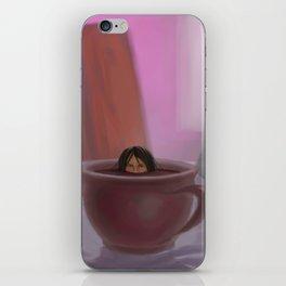 Caffe Girl iPhone Skin