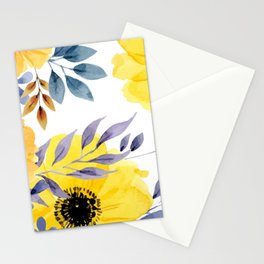 FLOWERS WATERCOLOR 10 Stationery Cards