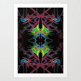 一 (Yī) Art Print