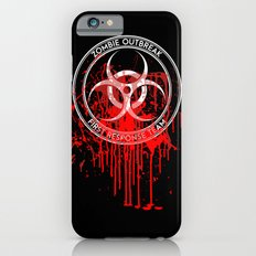Zombie Outbreak First Response Team iPhone 6s Slim Case