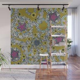 cirque fleur jalapeno grape star Wall Mural