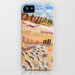 Beach Bums Welcome iPhone Case