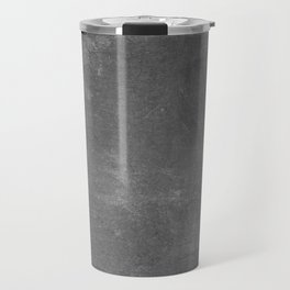 Gray and White School Chalk Board Travel Mug