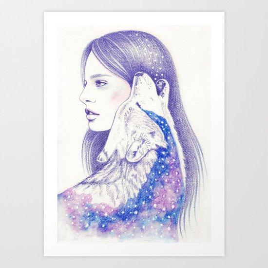 Cosmic Love Art Print