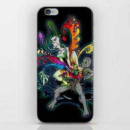 The Creativity Inside (Black) iPhone Skin