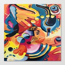 Stir Crazy Canvas Print