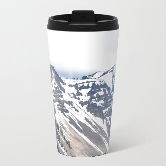 CRATER LAKE Metal Travel Mug