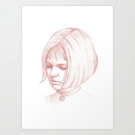 Mathilda, Leon the Professional Art Print