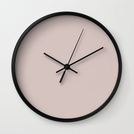 FILMY neutral solid color Wall Clock