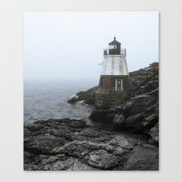 Castle Hill Lighthouse, Rhode Island Canvas Print