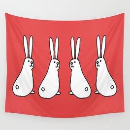 Usagi Rabbits Wall Tapestry
