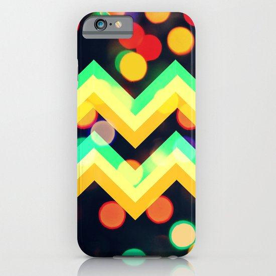 Bokeh Chevron iPhone & iPod Case