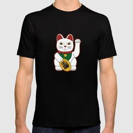 Maneki Neko - lucky cat T-shirt