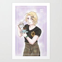 Yoosung CAFE Art Print