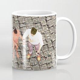 SquaRed: Three of Us Coffee Mug