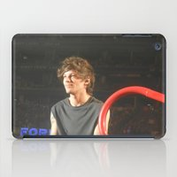 louis tomlinson iPad Cases featuring Louis Tomlinson by Halle